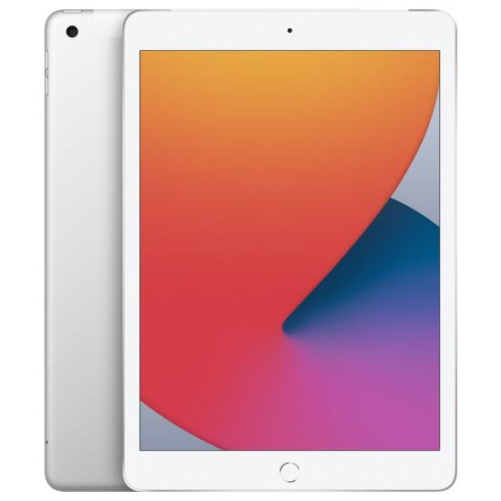 """iPad 10.2"""" 2020 Wi-Fi + 4G 128GB Silver (MYMM2)"""
