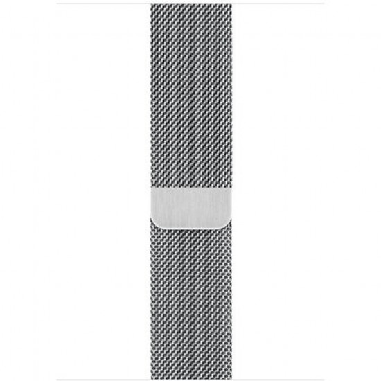 Apple Watch Series 4 40mm LTE Polished Stainless Case with Milanese Loop (MTUM2)