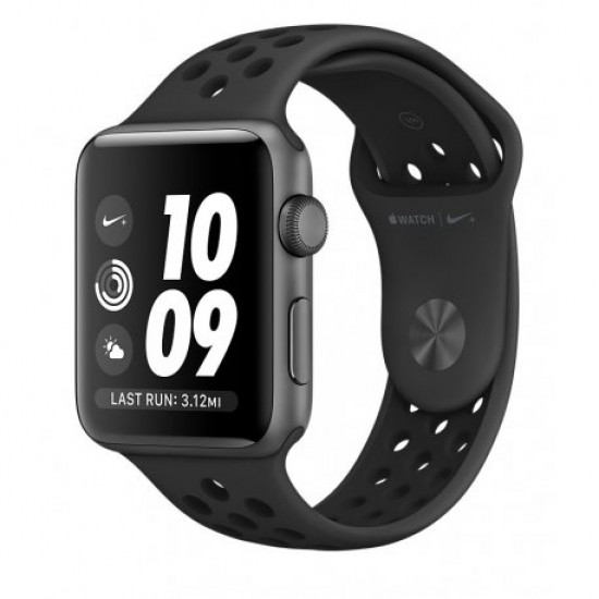 Apple Watch Series 2 42mm Nike+ Space Gray Aluminum with Anthracite/Black Nike Sport Band (MQ182)